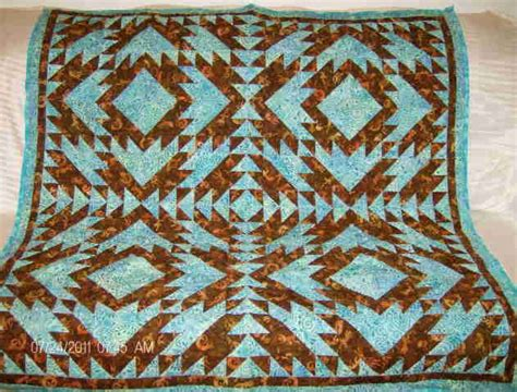 Southwestern Quilts by Turquoise And Brown Southwestern Quilt Quilts Page 3