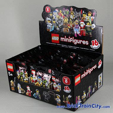 Lego 8833 Minifigures Serie 8 Complete Set 16 Pcs 8833 lego minifigures series 8 reviews complete set of 16