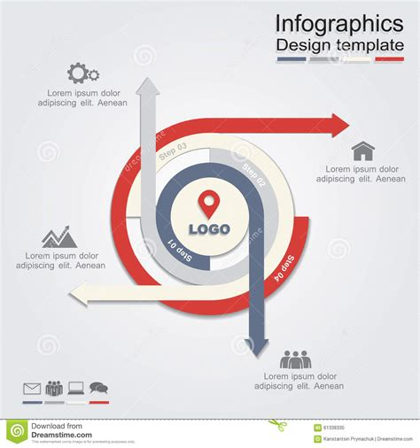 infographic design template infographic design template vector illustration stock