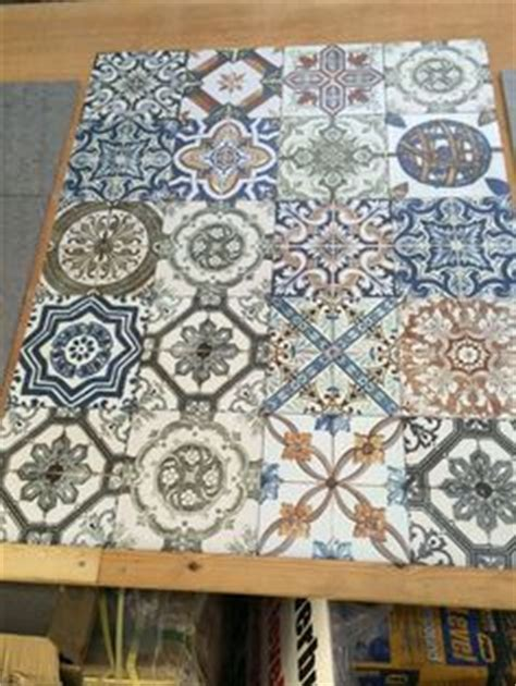 Mosaic Tapas patchwork tiles from The Reclaimed Tile