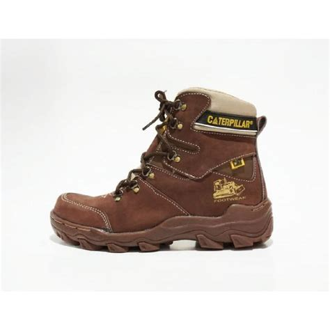 Caterpillar Argon Safety 39 43 sepatu boots pria cat pajero kulit safety ukuran 39 43 elevenia