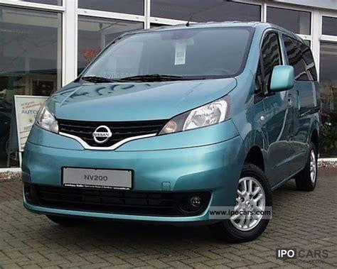 2012 nissan nv200 evalia 7 seater connect system car