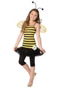 Tween honey bee costume