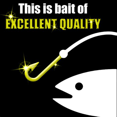 what is a bait excellent quality bait this is bait your meme