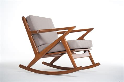 Rocking Armchair Plushemisphere Beautiful Mid Century Modern Rocking Chairs