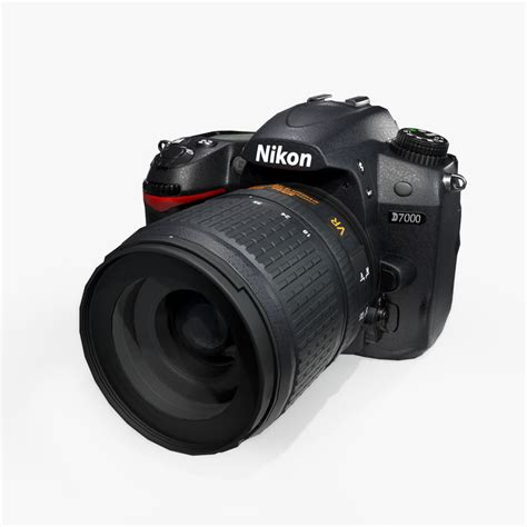 nikon d7000 dslr dslr nikon d7000 3d model turbosquid 1157011