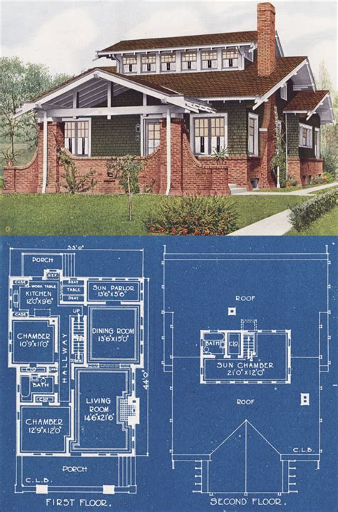 chicago bungalow house plans airplane bungalow american homes beautiful color