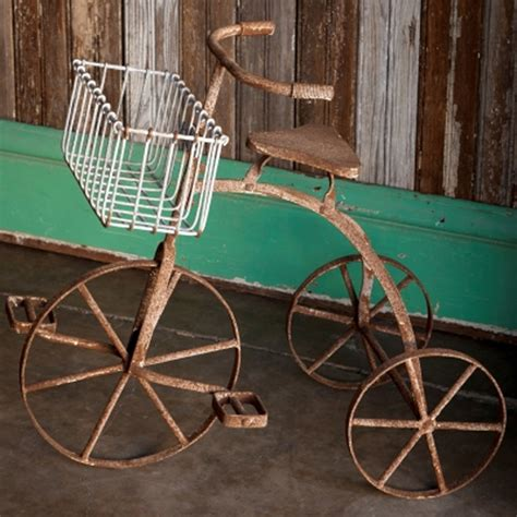 Tricycle Planter by Park Hill Collection Vintage Tricycle Planter Fh3015
