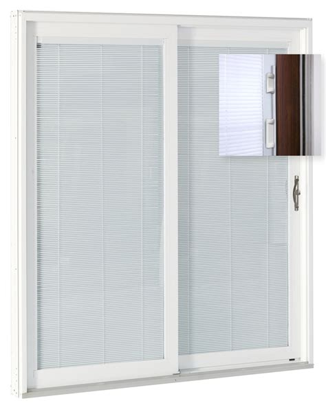 Add On Blinds For Patio Doors Add On Blinds For Patio Doors Odl White Cordless Add On Enclosed Aluminum Blinds With 1