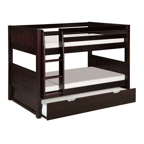 solid wood bunk beds twin over twin solid wood modern twin over twin bunk bed with trundle in