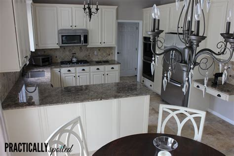 Painting Kitchen Cabinets White Without Sanding from hate to great a tale of painting oak cabinets