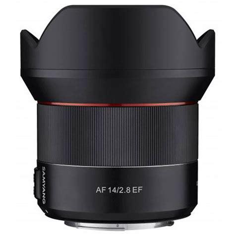 Samyang 14mm F 2 8 Lens For Canon samyang af 14mm f 2 8 lens jessops lenses