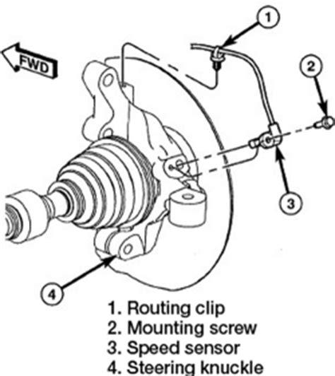 repair anti lock braking 2007 dodge charger head up display repair guides anti lock brake system wheel speed sensors autozone com