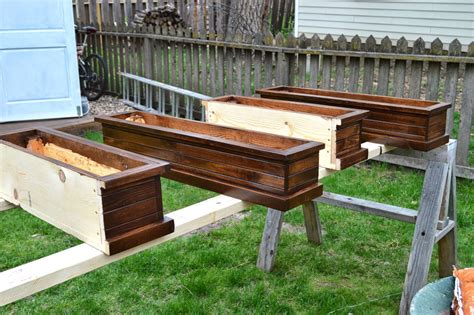 how to make window planter boxes hometalk how to build window wood box planters