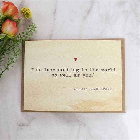 shakespeare valentines shakespeare valentines day card with by