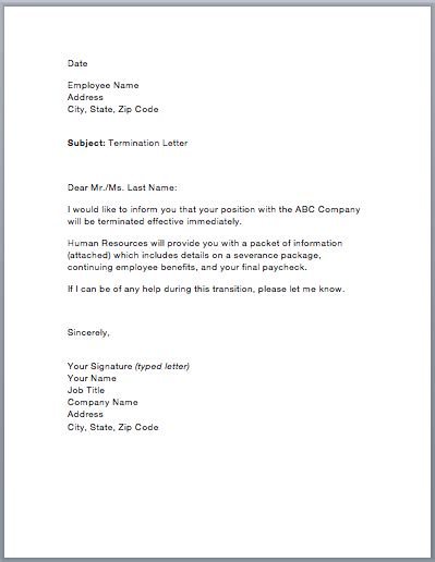 Charity Cancellation Letter sample termination letter smart letters