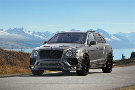 bentley bentayga geneva 2017 mansory has enhanced the bentley bentayga to