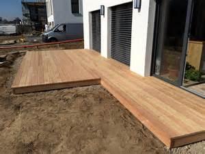 terrasse bauen holz terrassenbau hannover zimmerei f 252 r bau terrassen aus