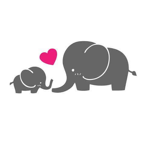 Aufkleber Baby F R Auto by Baby Und Mama Elefant Aufkleber Vinyl Aufkleber Etsy