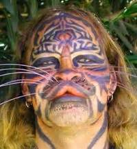 cat tattoo face man 85 best images about wtf disclaimer for bitches if you