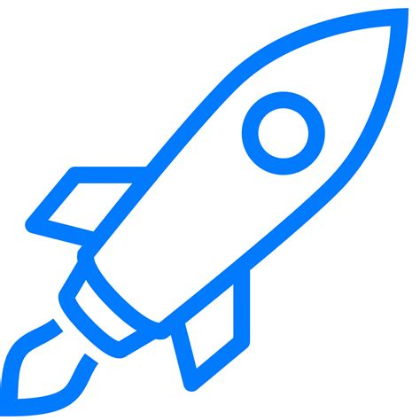 Rocket Black rocket icons for free in png and svg