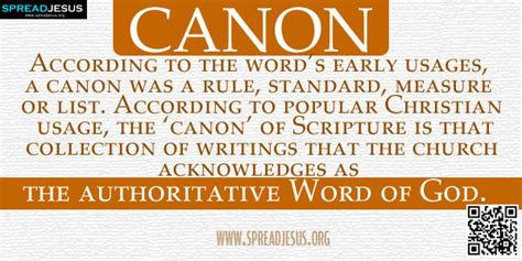 the biblical canon lists from early christianity texts and analysis books biblical definition of canon according to the word s early