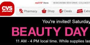 Cvs Beauty Day Giveaway - free stuff at the beauty day giveaway at cvs i crave freebies
