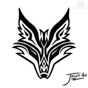 cool tribal fox designs to draw cliparts co