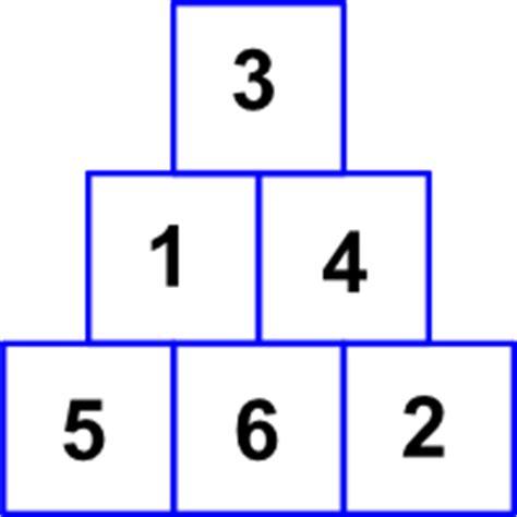 test di logica con soluzioni indovinello della piramide numerica