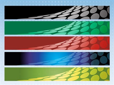 free banners for websites templates halftone banner pack vector art graphics freevector com