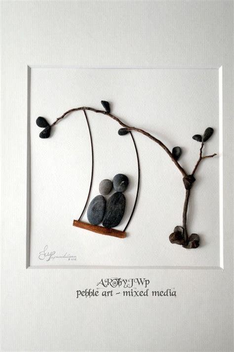 swing by swing pebble 68 best pebble art images on pinterest
