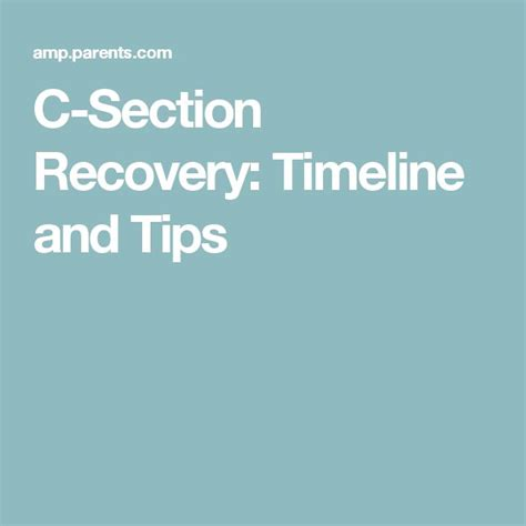 1000 Ideas About C Section Recovery On Pinterest C