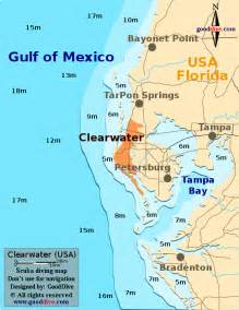 map of clearwater florida and surrounding areas clearwater map gooddive