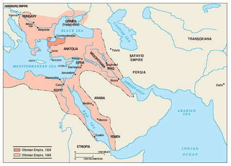 expansion of the ottoman empire important maps eastern europe and russia ap world
