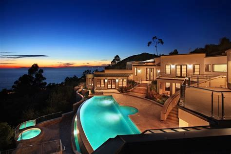 home infinity pool an infinity pool overlooks laguna beach from a very