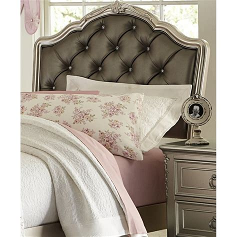 silver headboard full samuel lawrence sterling upholstered full headboard in