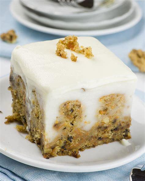 best carrot cake recipe carrot cake poke cake omg chocolate desserts