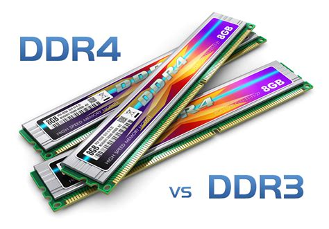 Memory V ddr3 and ddr4 ram differences
