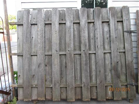 8 foot fence sections wood fencing panels and pickets lots of lumber in