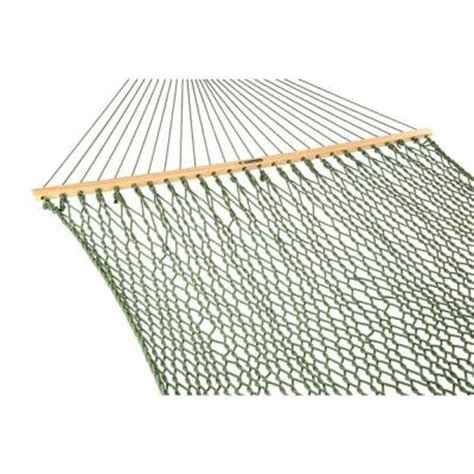 pawleys island 13 ft large duracord rope hammock meadow