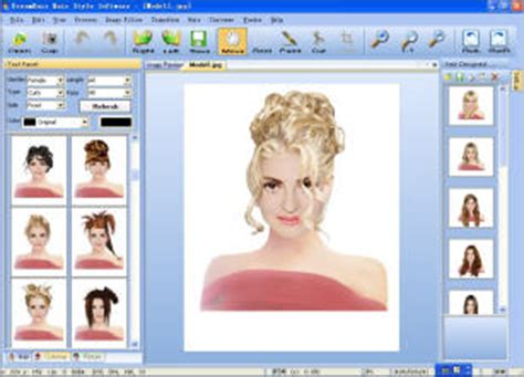 hairstyle design program dreamhair is hairstyle imaging and design software