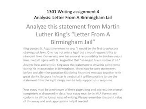 Bates College Letter From Birmingham College Essays College Application Essays Letter From Birmingham Essay Analysis