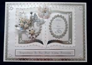 30th pearl wedding anniversary card matching box a4 size personalised ebay