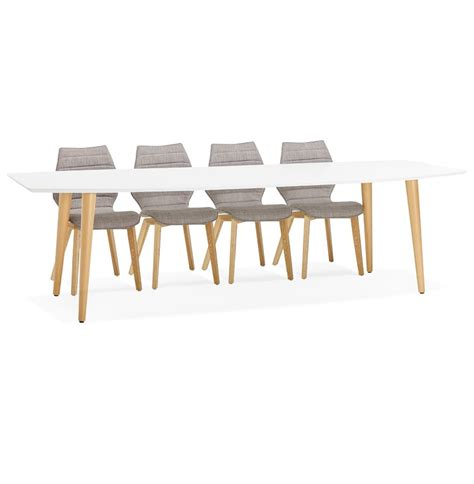 Table Extensible Scandinave by Table 224 D 238 Ner Design Eskimo Table Extensible Style