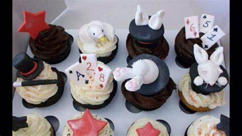 Cups Cake Magic 35 best images about magician cupcakes on magician magic and birthday cakes
