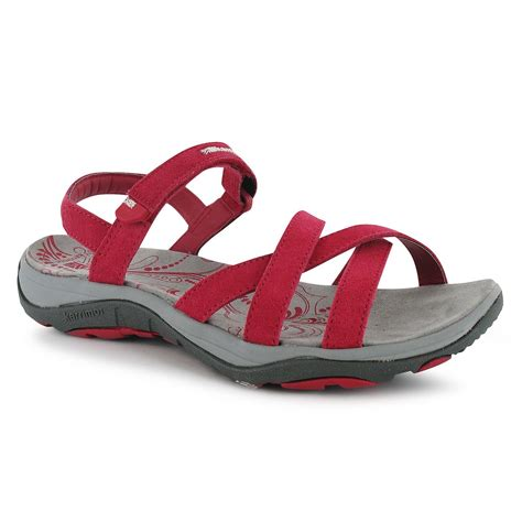 karrimor womens salina leather outdoor sandals walking hiking shoes ebay