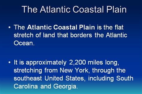atlantic coastal plains 4th grade