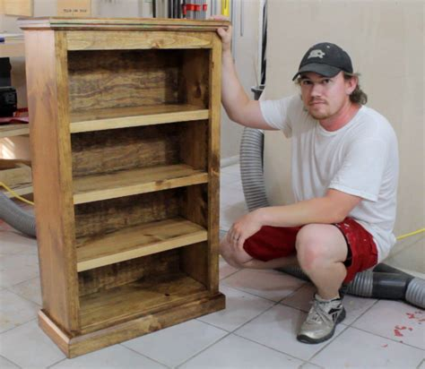 Plans For Bookcase Easy Pocket Hole Bookcase Jays Custom Creations