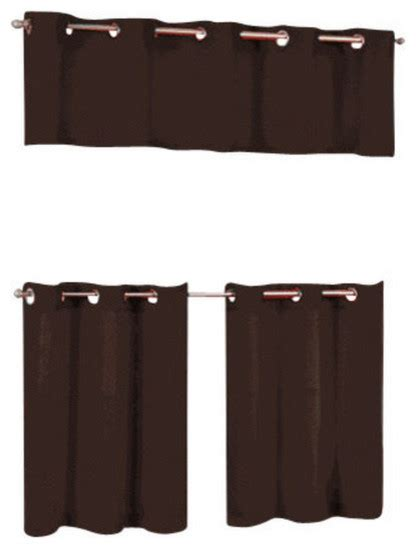 grommet cafe curtains jackson grommet top cafe curtain tier and valance set