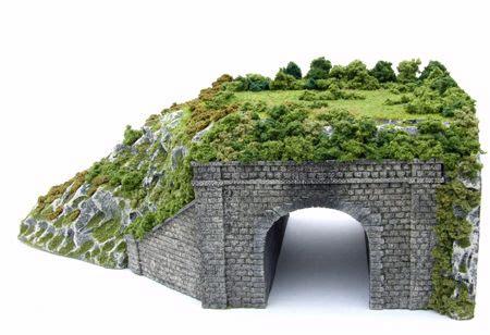 scenic model rail tunnel  dad ho